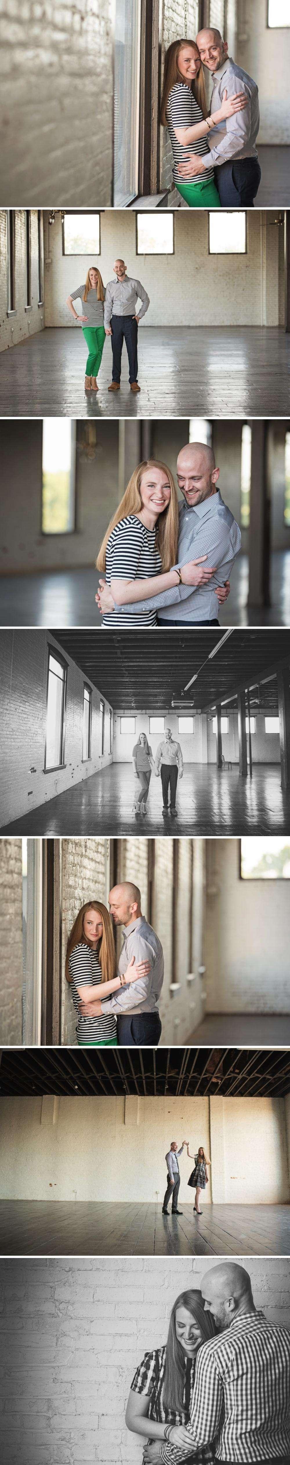 Downtown Gainesville TX Engagement Shoot