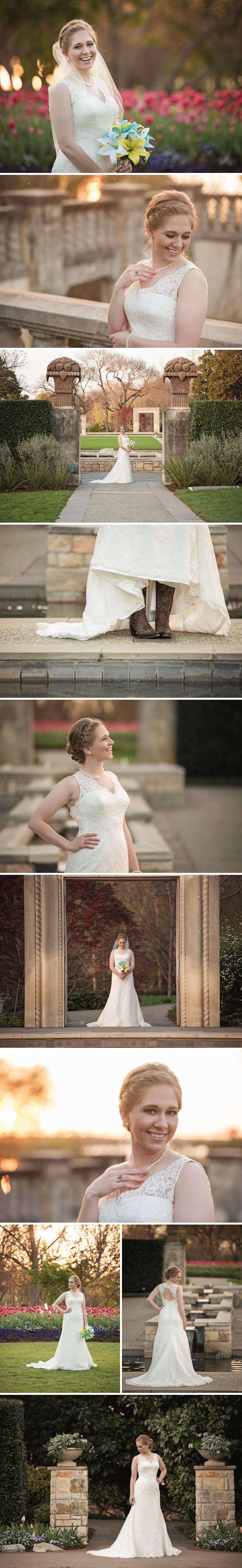 Bridal Session at Dallas Arboretum
