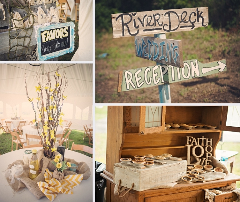 Rustic Oklahoma Tent Wedding