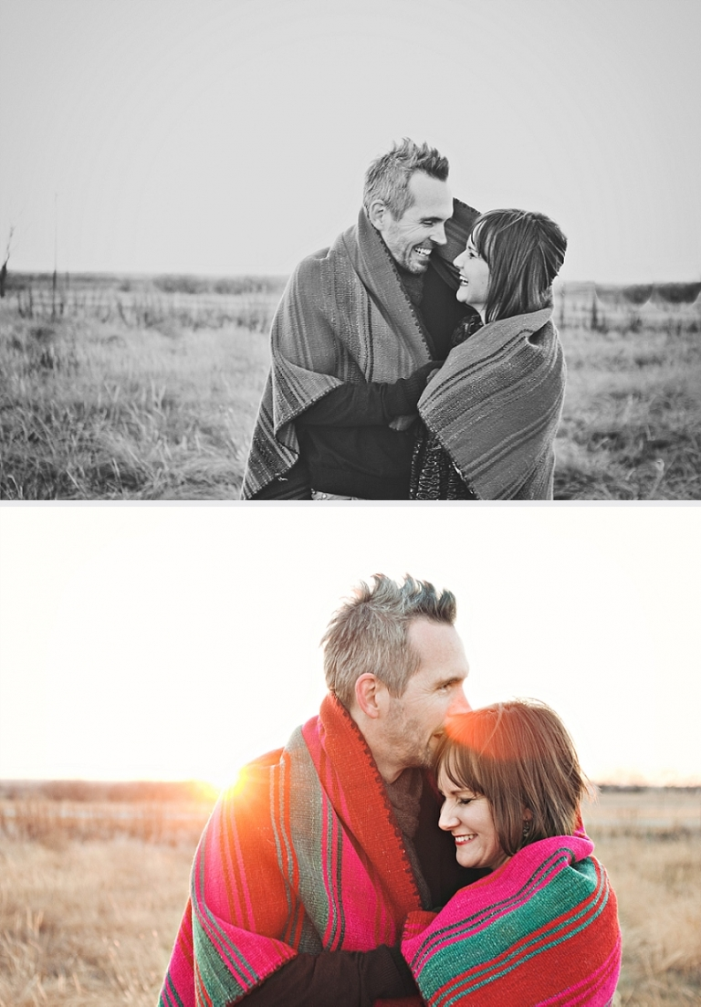 Paige + Dwight - Camp Themed Engagement Session