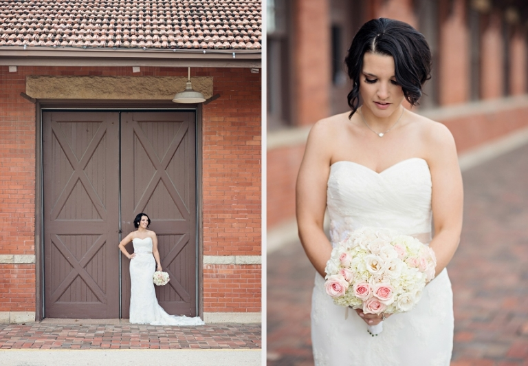 Bridal Portraits on a Gravel Road - Miranda Marrs Photography