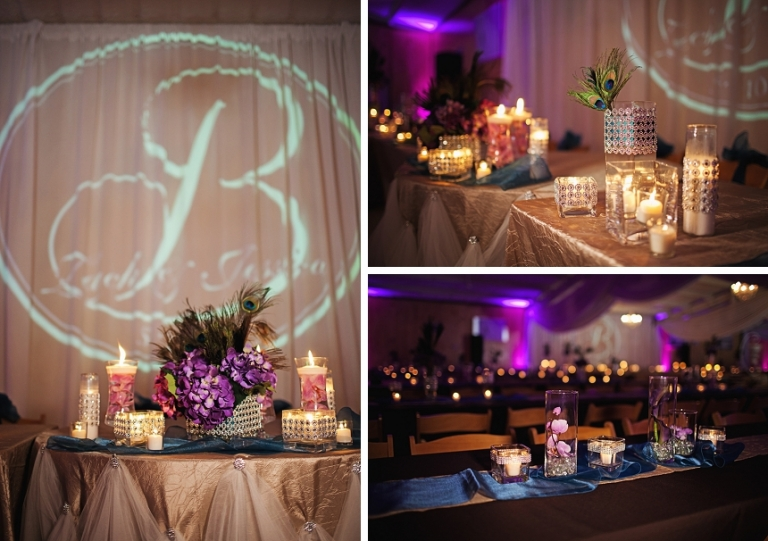 Peacock and Chandelier Wedding - Muenster, TX - Miranda Marrs Photography
