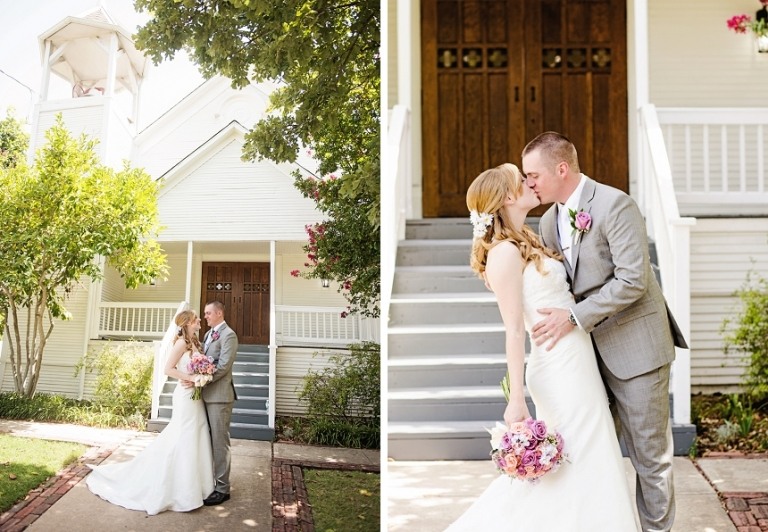 Chestnut Square Wedding in McKinney, TX (Miranda Marrs Photography)