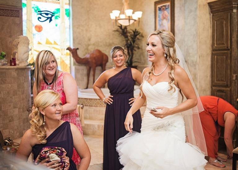 Piazza in the Village Wedding in Colleyville, TX
