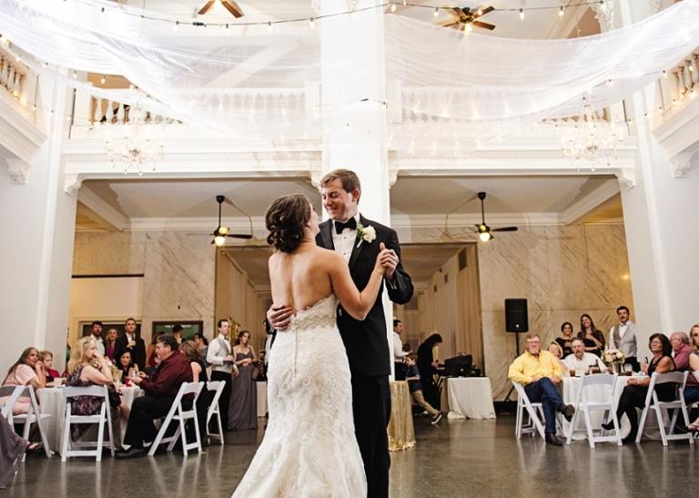 Katy Depot Wedding in Denison, TX (Miranda Marrs Photography)