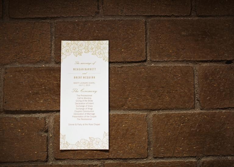 Fort Worth Wedding at Marty Leonard Chapel