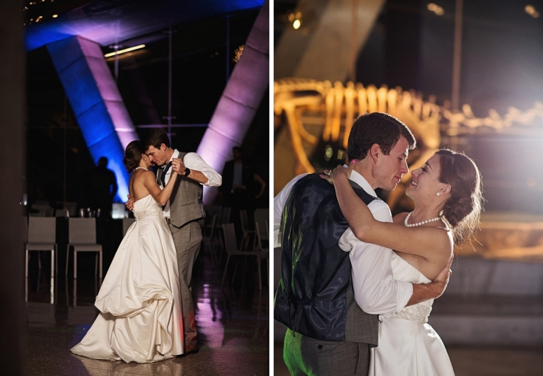 Wedding at the Perot Museum in Dallas