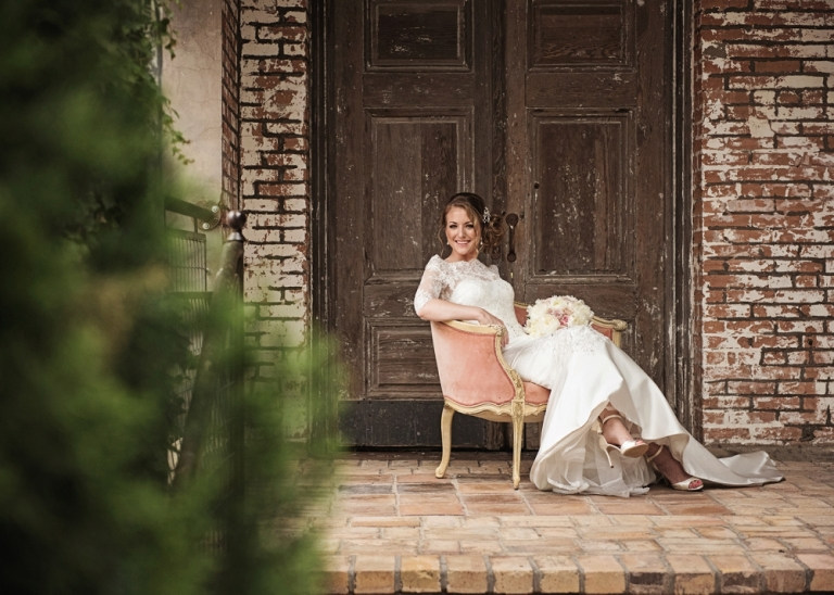 Bridal Session at the Cotton Mill in McKinney