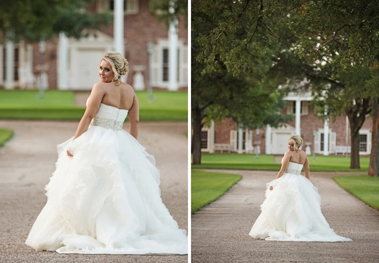 Texas Southern Belle Bridals with bolero