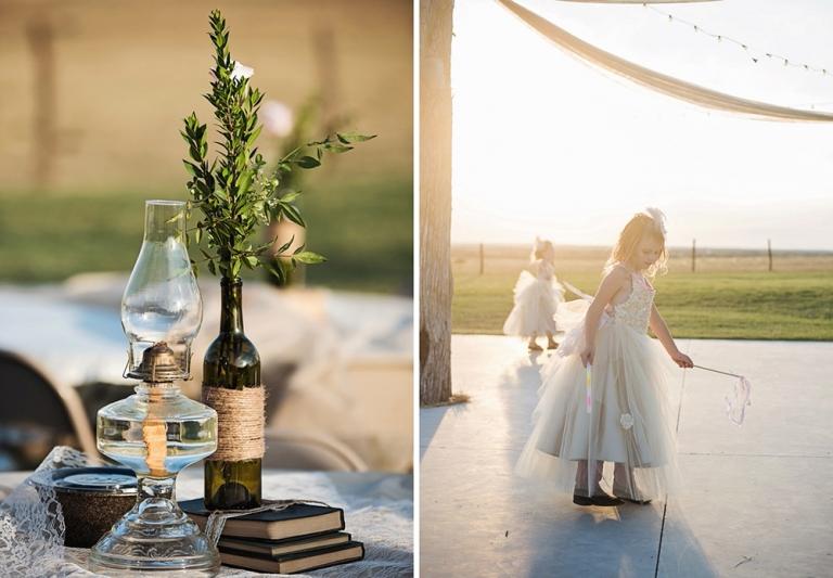 Outdoor Texas barn wedding at Double K Ranch