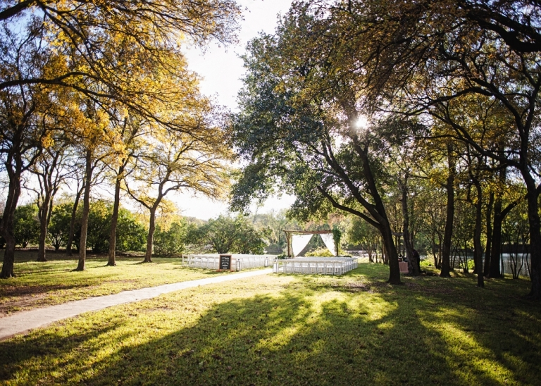 Outdoor Fall Wedding at Cross Creek Ranch in Parker TX