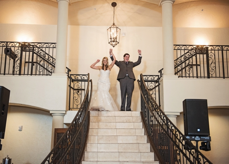 Wedding and Reception at Chapel at Ana Villa in Colleyville