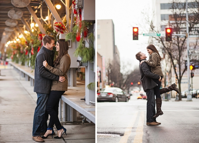 Engagement Session in Downtown Roanoke VA