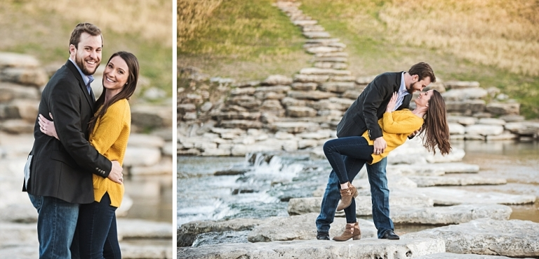 Fort Worth Engagement Session at Trinity Park