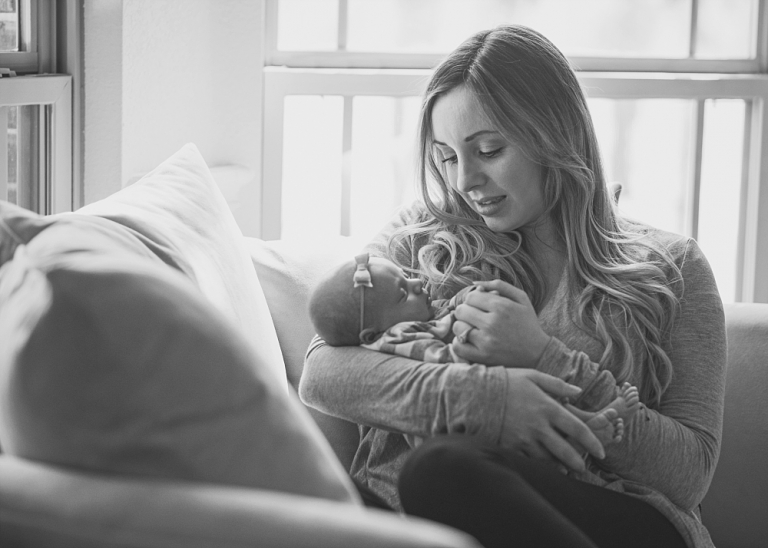 DFW Newborn Lifestyle Photographer
