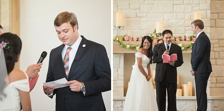 Wedding at Hidden Pines Chapel