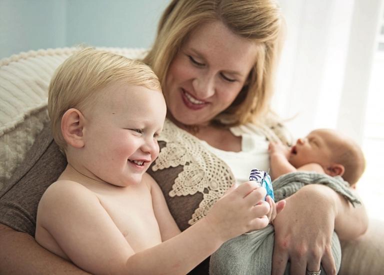 Dallas Newborn Lifestyle Session at Home