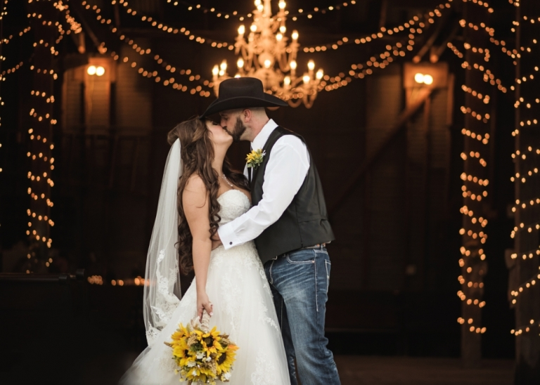 Rustic Barn Wedding at 410 Gin