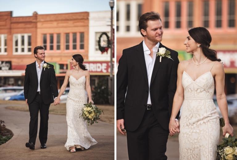 Courthose Wedding in Downtown Denton