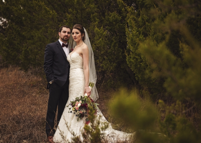 Winter Texas Wedding at Stone Crest Venue in McKinney