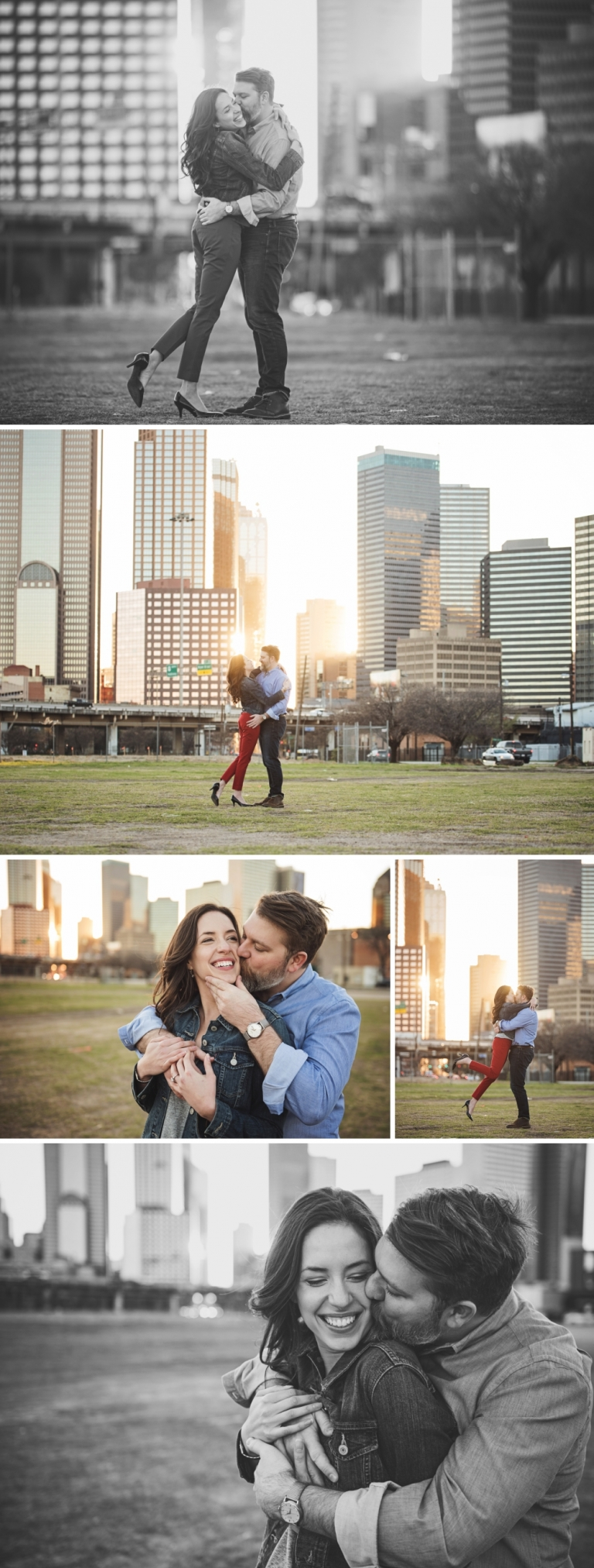 Downtown Dallas Deep Ellum Engagement Session