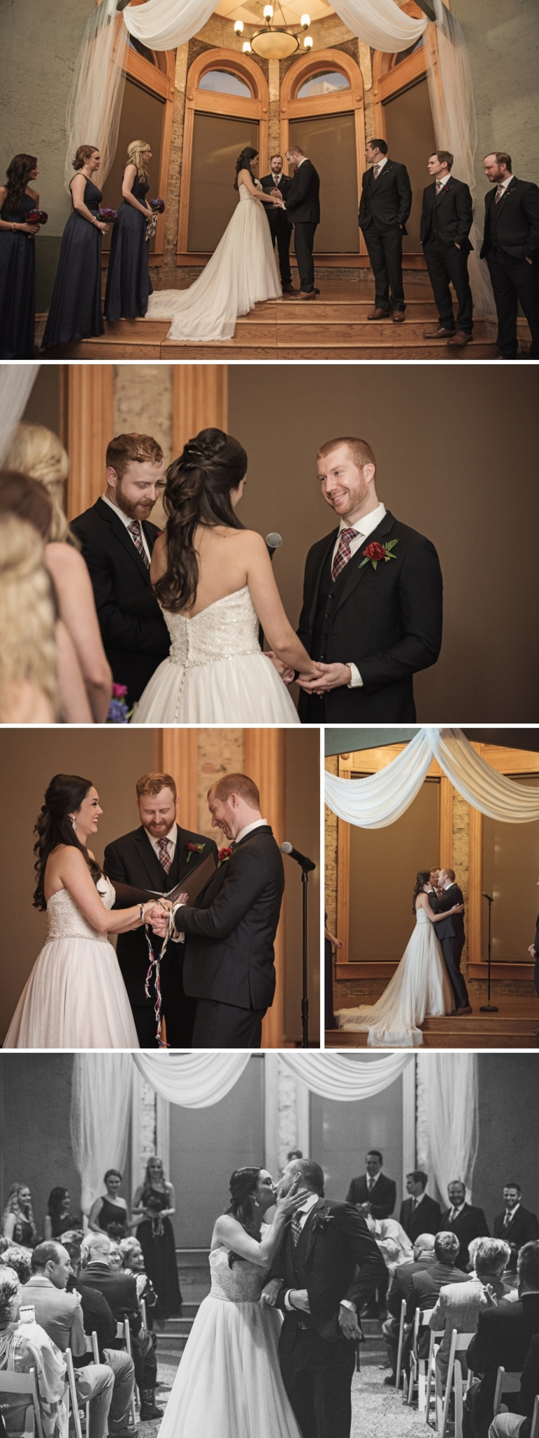 Old Red Courthouse Wedding in Downtown Dallas