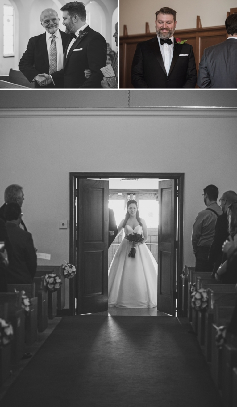 Fort Worth Chapel Wedding