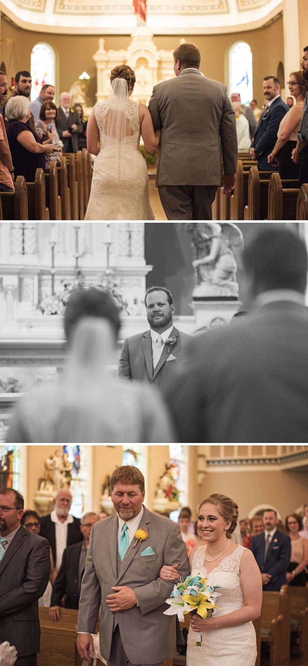St. Mary Catholic Church Wedding