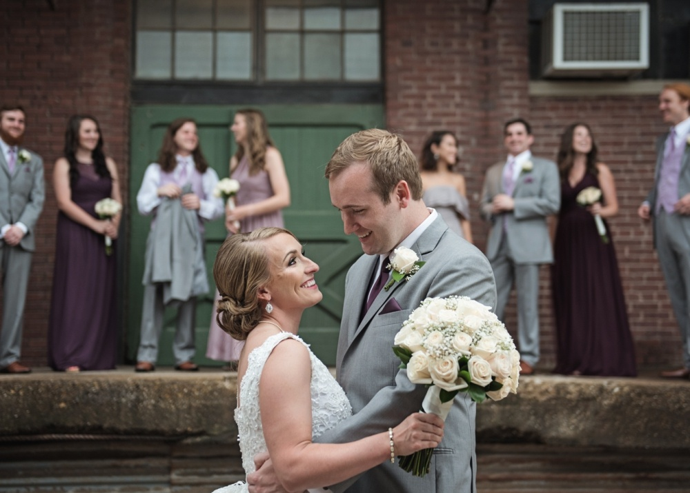 Mckinney Flour Mill Wedding Photographer