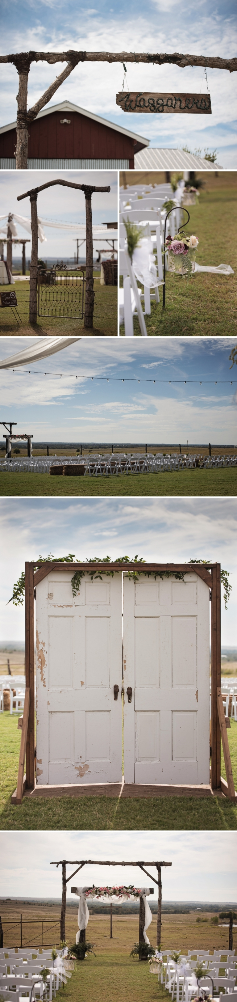 Gorgeous Texas Glam Barn Wedding with Outdoor Ceremony
