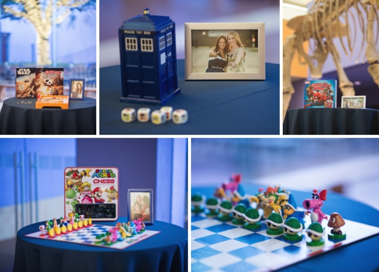 Geek Wedding with themes