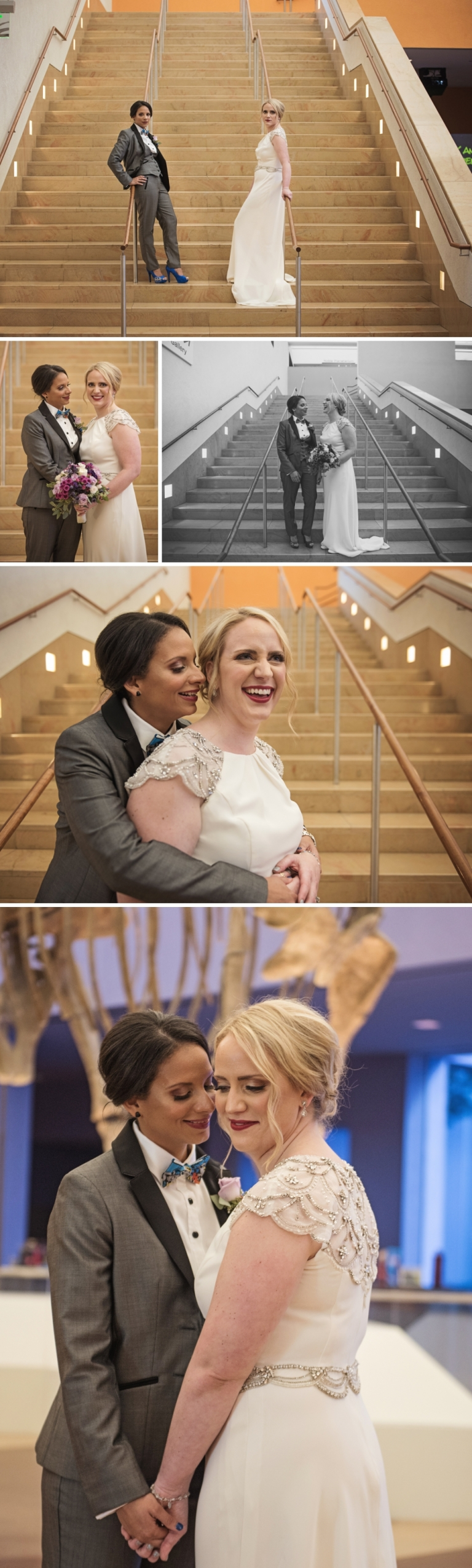Gorgeous Same Sex Wedding at Fort Worth Museum of Science and History
