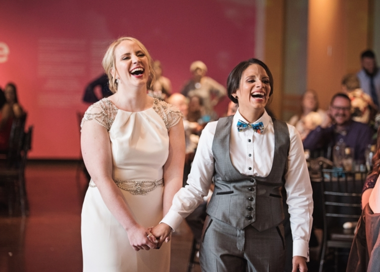 Same Sex Wedding at the Fort Worth Museum of Science and History