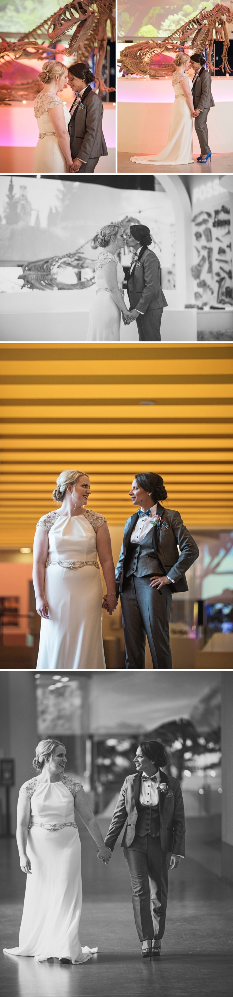 Wedding at Fort Worth Museum of Science and History