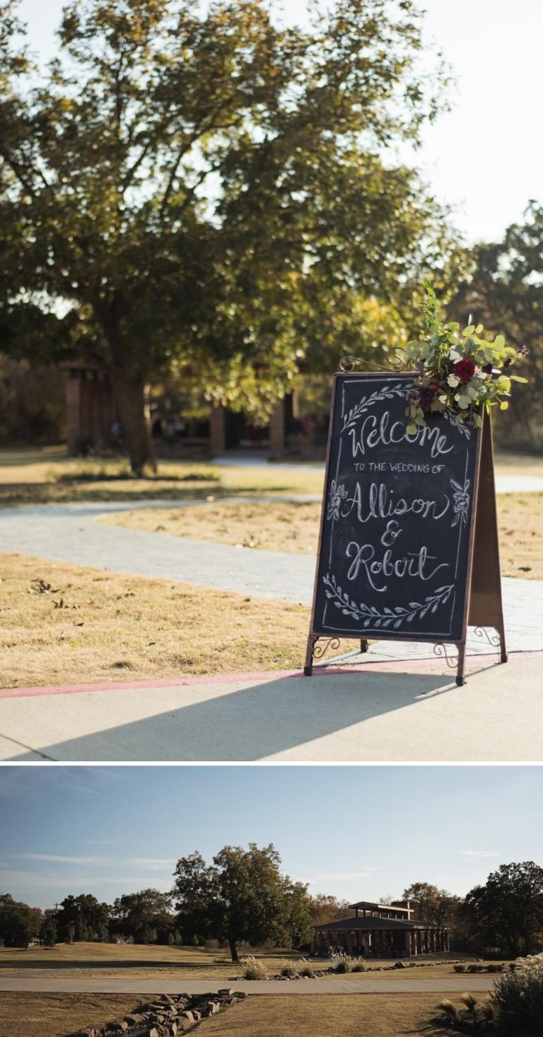 Milestone Barn Wedding in Aubrey