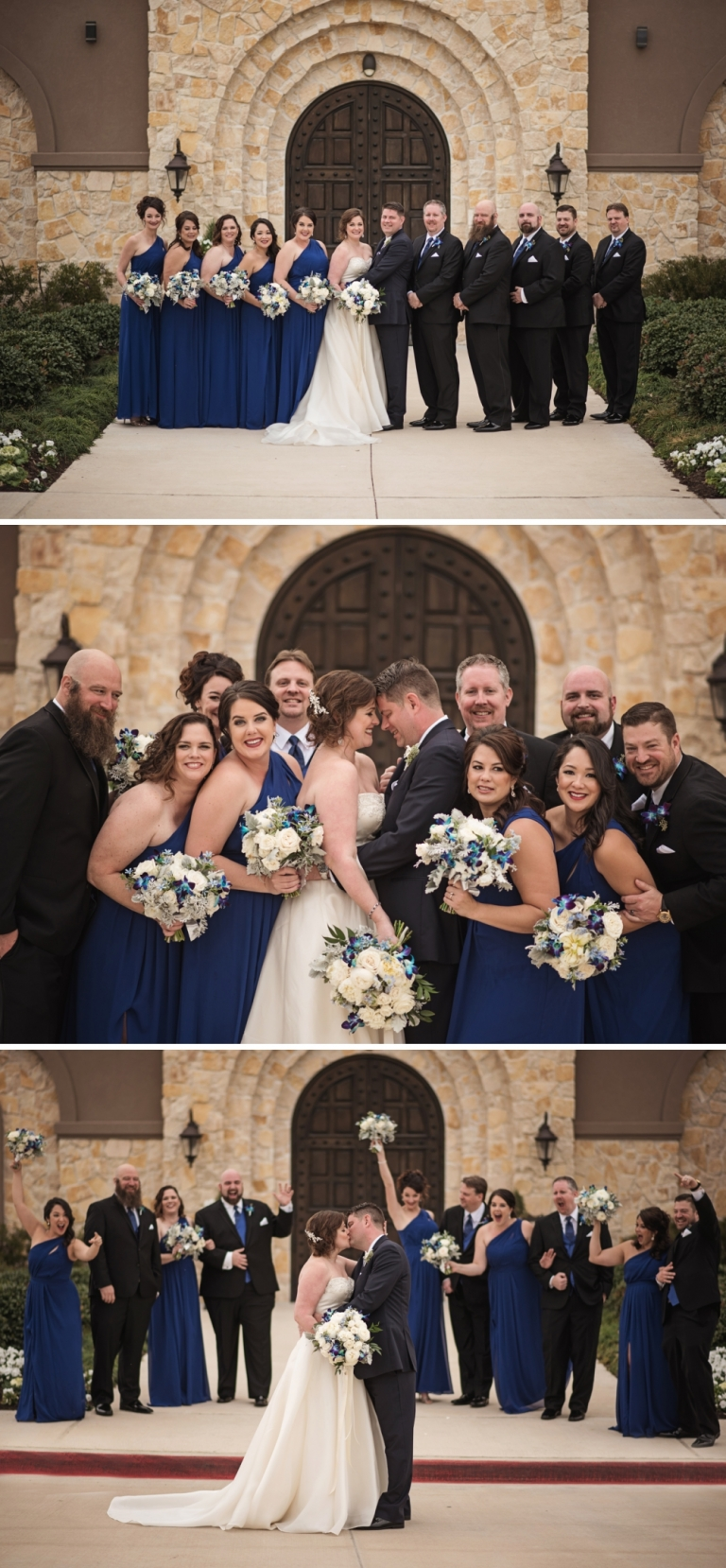 Wedding at the Piazza on the Green in McKinney