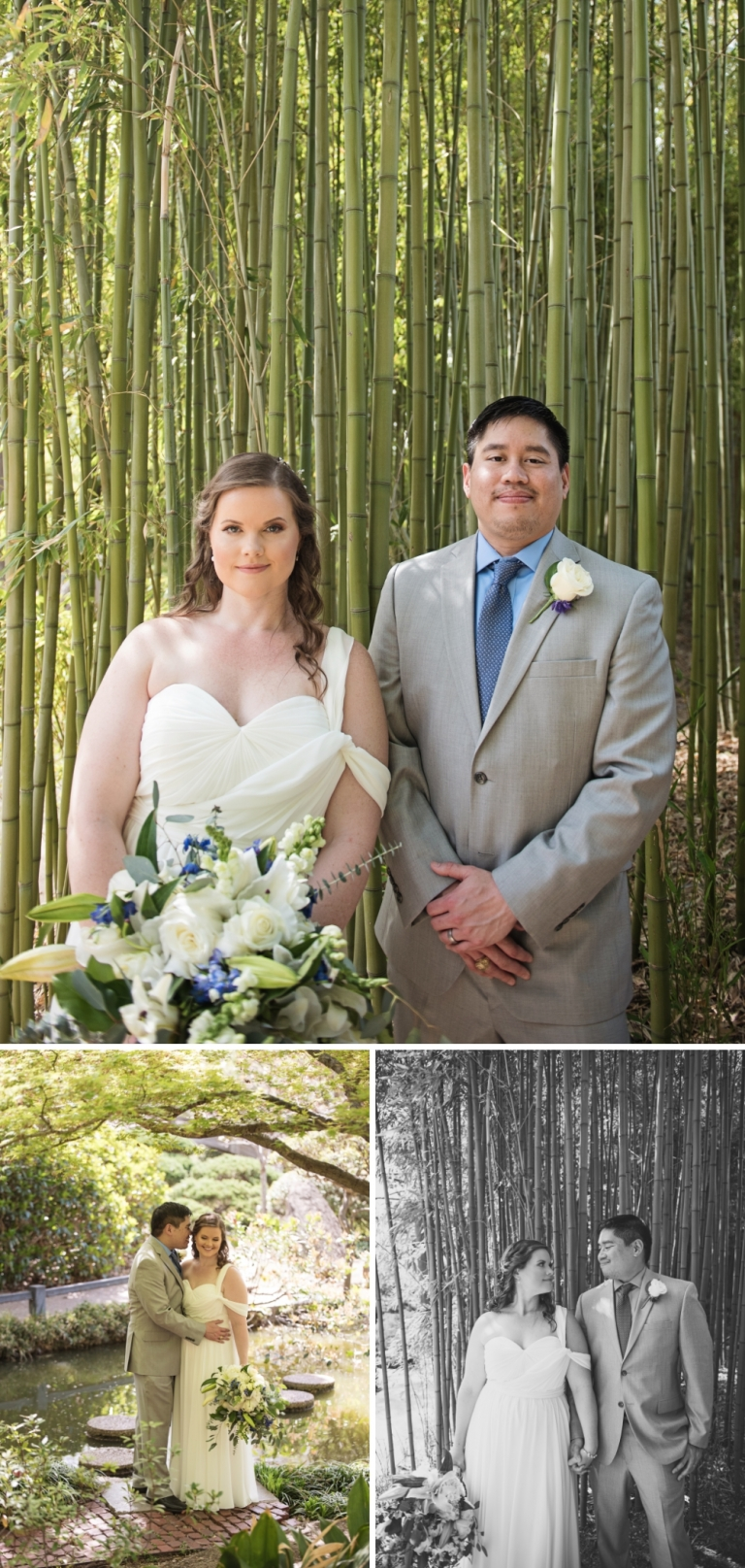 Intimate Wedding at the Fort Worth Japanese Gardens