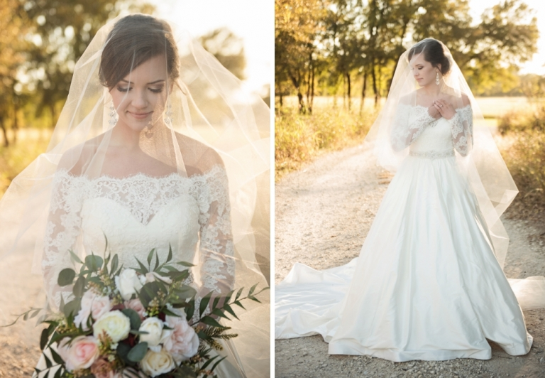 McKinney Bridal Portrait Session