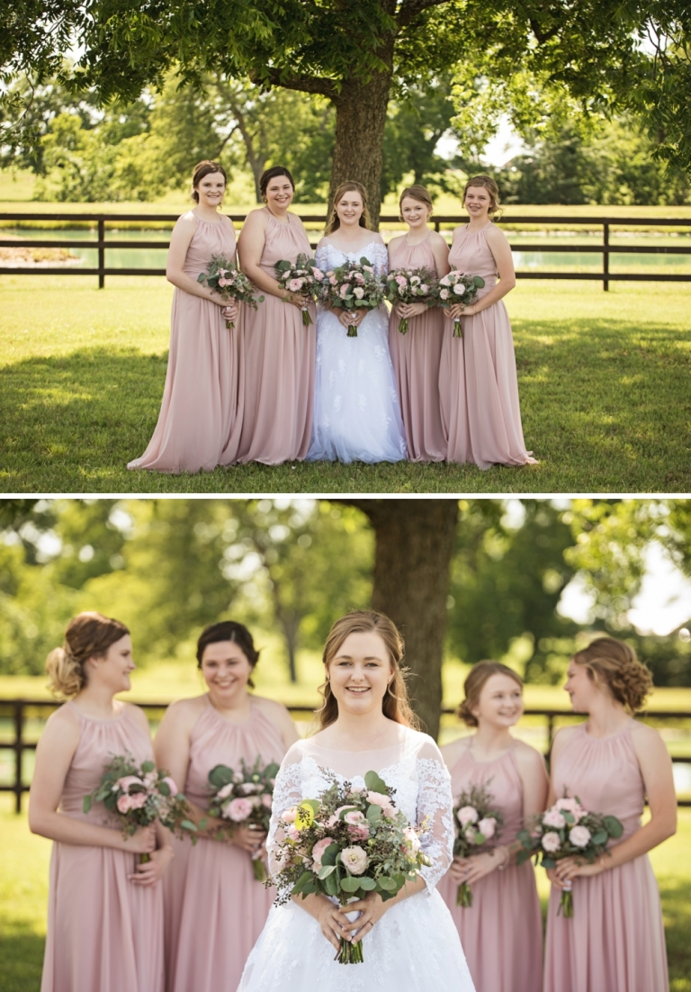 Wedding at Bella Vita Farms in Collinsville
