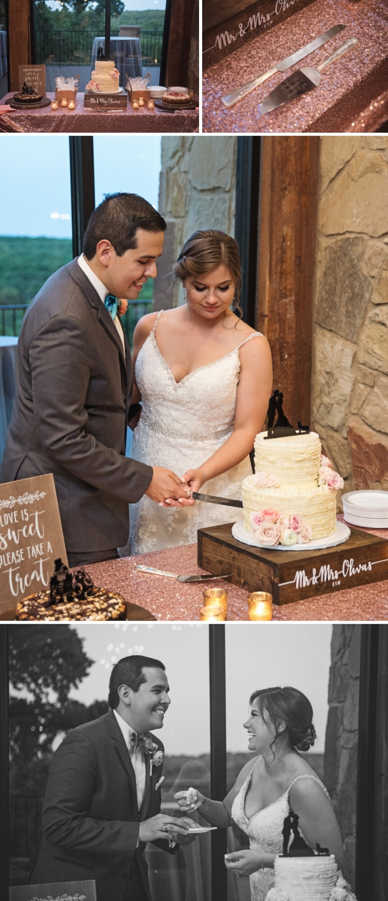 Lodge Wedding at the Springs in Denton