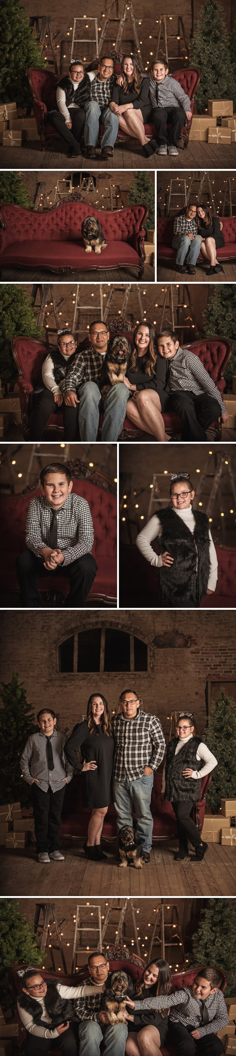 DFW Christmas Mini Session