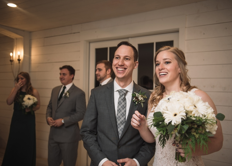 Winter Wedding at the Nest at Ruth Farms