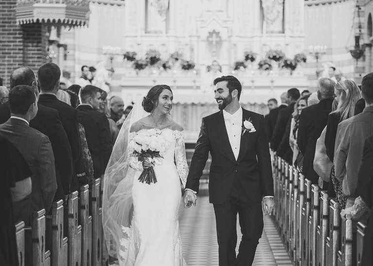 December Catholic Wedding in Lindsay by Miranda Marrs Photography