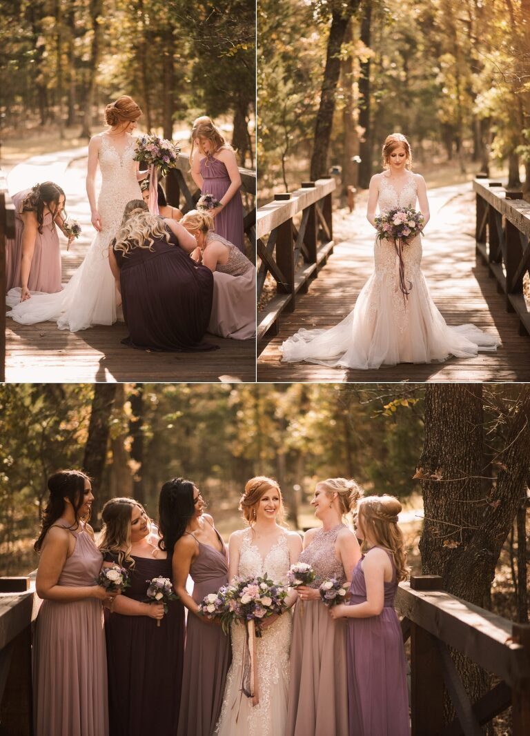 Wedding at Whispering Oaks in Valley View