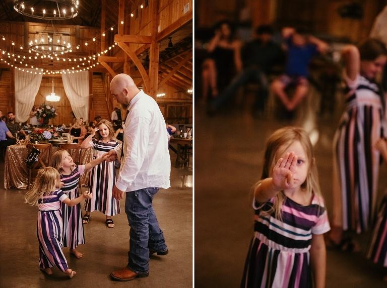 Summer Outdoor Wedding at Waterstone Venue in Celina
